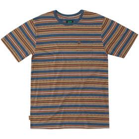 Hippy Tree Terrace Knit T-Shirt Heren, heather blue